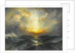 Sunset at Sea, 1906 by Thomas Moran