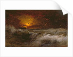 Sunset Over the Sea, 1887 by George Snr. Inness