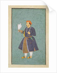 Portrait of Jahangir holding a Falcon, c.1600-10 by Manohar
