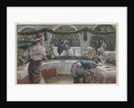 The Meal in the House of the Pharisee by James Jacques Joseph Tissot