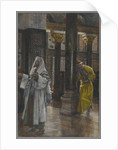 The Pharisee and the Publican by James Jacques Joseph Tissot