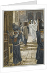 Jesus Forbids the Carrying of Loads in the Forecourt of the Temple by James Jacques Joseph Tissot
