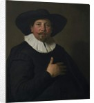 Portrait of a Man, c.1638 by Jacob Adriensz Backer