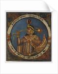 Mayta Capac, Fourth Inca King, mid 18th century by School Peruvian
