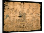 Page from the Codex San Pedro Atlapolco, Nahua by Mexican School