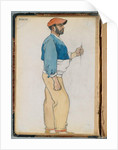Sketch of a Spanish man, 1906 by Edward Penfield