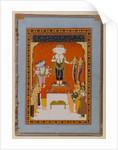 Devotions to Nagadevata, Rajasthan, c.1790 by Indian School