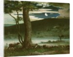 The Midnight Moon by Elliott Daingerfield