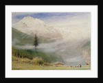 Jungfrau, 1913 by Albert Goodwin