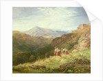 Haymaking, Snowdon, 1847 by David Cox