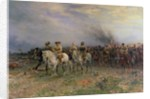 Cromwell after the Battle of Marston Moor by Ernest Crofts