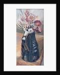 Dried Flowers in a Bernard Leach Jug by Joan Thewsey