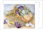 Vegetables in a Basket by Joan Thewsey