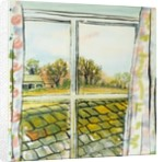 Through the Cottage Window Suffolk by Joan Thewsey