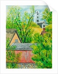 View from Cynthia's Window, Dalham by Joan Thewsey