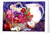 Primulas and Apples by Joan Thewsey