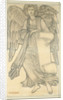 Angel with Scroll - figure number nine by Sir Edward Coley Burne-Jones