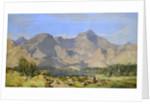 Catbells and Causey Pike, Derwentwater by William James Blacklock
