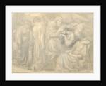 The Death of Lady Macbeth by Dante Gabriel Charles Rossetti