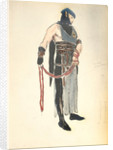 Costume Design for the Queen's Servant in 'Le Mort de Tintagiles' by Charles Ricketts