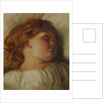 The Sleeping Child - A Granddaughter by William Strutt