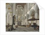 Interior of the Nieuwe Kerk, Amsterdam, 1657 by Emanuel de Witte