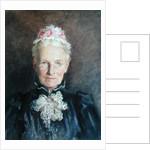 Jane Barnard c.1892 by English School