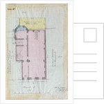 Ground plan of the Royal Institution leases, 1863 by English School