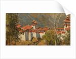 Trongsa Dzong by Tim Scott Bolton