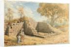 Roman Wall - Turret on Blackcarts Farm, 1875 by David Mossman