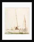Sailing Boat by Charles Napier Hemy