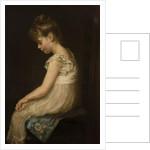 Meditation, 1879 by John Everett Millais