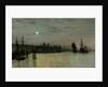 Greenwich, Half Tide, 1884 by John Atkinson Grimshaw