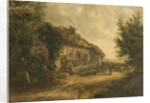 Cottages at Petersfield Hampshire, 1839 by William Kidd