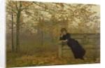 Autumn Regrets, 1882 by John Atkinson Grimshaw