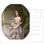 Lady in Lilac by Charles Wynne Nicholls