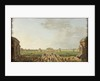 View of the Projected Foro Bonaparte, Milan, c.1800 by Alessandro Sanquirico