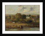 Landscape with a Country House, 1838 by John Wilson Carmichael