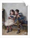 In School, 1883 by Ralph Hedley