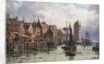 A Bit of Old Shields, 1898 by Duncan F. McLea