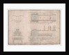 Construction drawing, 0-4-2 locomotive and tender by R. and W. Hawthorn and Co. for the Stanhope and Tyne Railway Co by English School