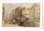 The Bigg Market, Newcastle upon Tyne by William Bell Scott