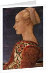 Profile Portrait of a Young Lady, 1465 by Antonio Pollaiuolo