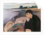 Melancholy, 1894-95 by Edvard Munch