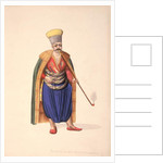 The Ambassadors' Janissary, Ottoman period, third quarter of 18th century by French School