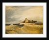 Coast Scene with Pier by Henry Dawson