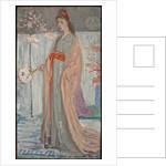 Sketch for Rose and Silver: La Princesse du Pays de la Porcelaine, 1863-64 by James Abbott McNeill Whistler