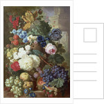 Flowers and Fruit by Jan van Os