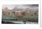A Frost Fair on the Thames at Temple Stairs, c.1684 by Abraham Danielsz. Hondius