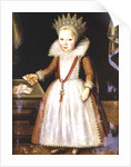 Lady Diana Russell as a Child by English School